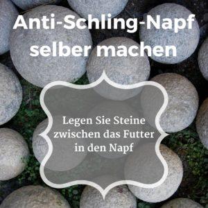 Anti Schling Napf Hund : mein hund schlingt beim fressen anti schling napf selber machen ~ Watch28wear.com Haus und Dekorationen
