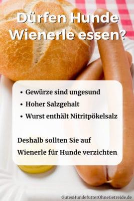 Dürfen Hunde Wienerle essen?