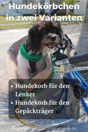 Hundekörbchen in zwei Varianten