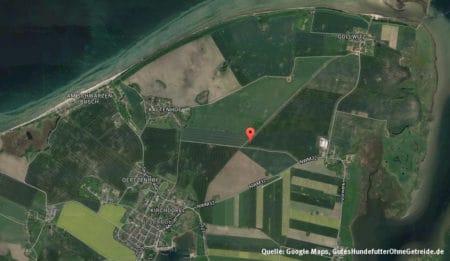 Karte der Insel Poel, Quelle: Maps.Google.de