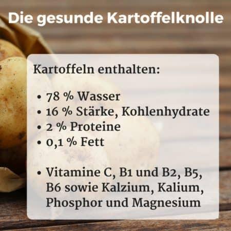 Die gesunden Inhaltsstoffe der Kartoffelknolle