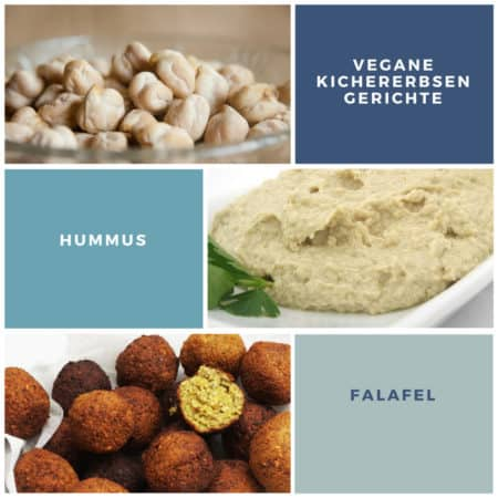 Falafel und Hummus bestehen aus Kichererbsen