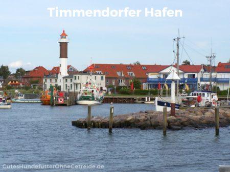 Leuchtturm im Hafen von Timmendorf