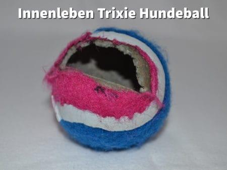 Zerbissener Hundeball von Trixie